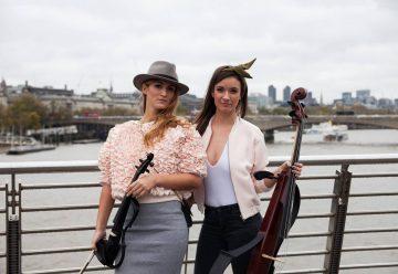 Lison Favard & Maïa Collette – Musiciennes au Cosmopolitan Quartet