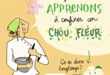 La recette illustrée de Chloé Charles & Laure Barrière