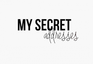 Curiosity Club x My Secret Adresses