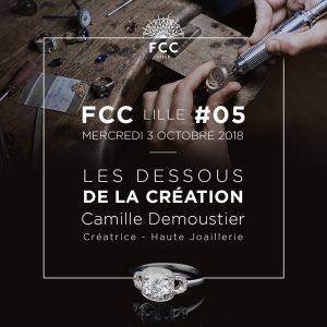 Camille Demoustier,  les dessous de la création
