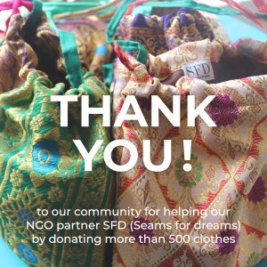 Our FCC Mumbai community donated more than 500 clothes
